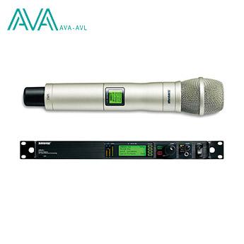 میکروفن دستی بی سیم شور SHURE UR4+/UR2/KSM9