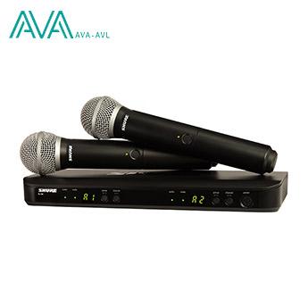 میکروفن دستی بی سیم شور Shure BLX288/PG58