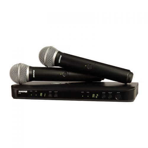 میکروفن دستی بی سیم شور Shure BLX288/BETA58