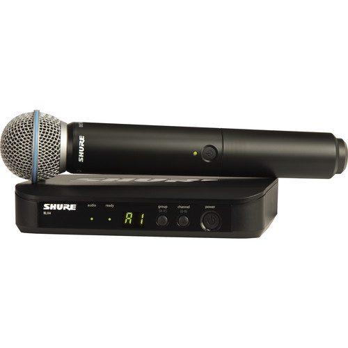 میکرفن بیسیم شور مدل shure blx24uk/b58